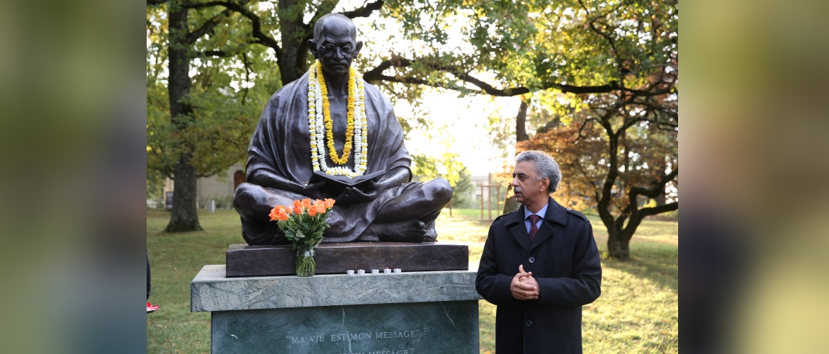 Gandhi Jayanti Celebrations in Geneva, 02 October 2019