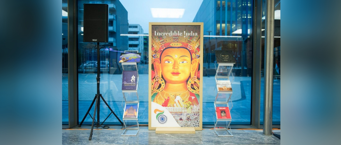 Incredible India Posters displayed in the World Intellectual Property Organization in Geneva, January 2019
